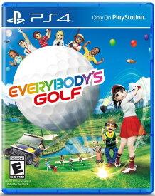 みんなのGOLF Everybody's Golf (輸入版:北米) - PS4 -【新品】