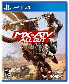 MX vs ATV All Out (輸入版:北米) - PS4【新品】