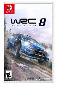 WRC 8: FIA World Rally Championship (輸入版:北米) Nintendo Switch【新品】