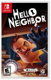 ハローネイバー Hello Neighbor (輸入版:北米) - Switch パッケージ版 【新品】