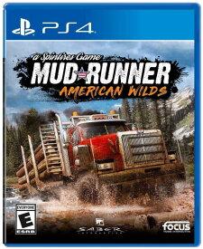 スピンタイヤ:マッドランナー Spintires MudRunner - American Wilds Edition (輸入版:北米) - PS4【新品】