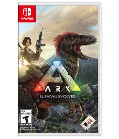「マラソン限定!エントリーで店内全品ポイント+2倍」ARK:Survival Evolved アーク サバイバル エボルブド スイッチ Nintendo Switch 輸入版:北米 日本語選択可能 パッケージ版ソフト【新品】
