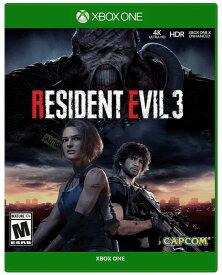 「マラソン限定!エントリーで店内全品ポイント+2倍」バイオハザード3 Resident Evil 3 (輸入版:北米)- XboxOne【新品】