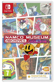 ナムコ ミュージアム Namco Museum Archives Volume 1 [Code in the Box] (輸入版) - Switch【新品】
