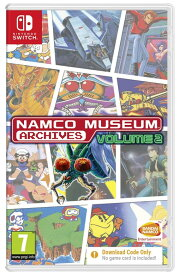ナムコ ミュージアム Namco Museum Archives Volume 2 [Code in the Box] (輸入版) - Switch【新品】