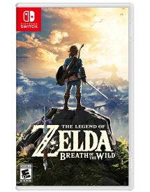 ゼルダの伝説 ブレス オブ ザ ワイルド The Legend of Zelda: Breath of the Wild (輸入版:北米) - Switch【新品】