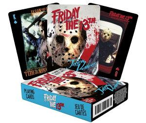 13日の金曜日 ジェイソン トランプ Friday the 13th Playing Cards 輸入品【新品】