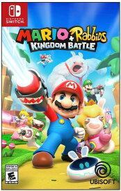 マリオ+ラビッツ キングダムバトル Mario + Rabbids Kingdom Battle (輸入版:北米) - Switch【新品】