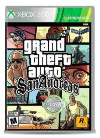 「マラソン限定!エントリーで店内全品ポイント+2倍」Grand Theft Auto: San Andreas グランド・セフト・オート・サンアンドレアス (輸入版:北米) - Xbox 360【新品】