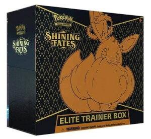 ポケモンTCG シャイニング Shining Fates Elite Trainer Box カードゲーム (輸入版:英語)【新品】