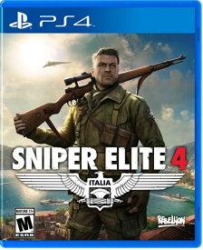 Sniper Elite 4 北米版 PS4【新品】