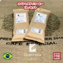 お得1kgセット(500gX2種類) スペシャルティ コーヒー 生豆 珈琲 ブラジル グアリロバ農園 高品質 (Brazil Fazenda Guariroba Specialty Coffee 1KG SET 500gx2) コーヒー 生豆 高級珈琲 未焙煎 お得500gX2種類 1kg セット オープン記念キャンペーン 送料無料 ポイント10倍
