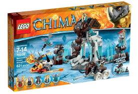 レゴ チーマ 70226 マンモス族のアイス要塞