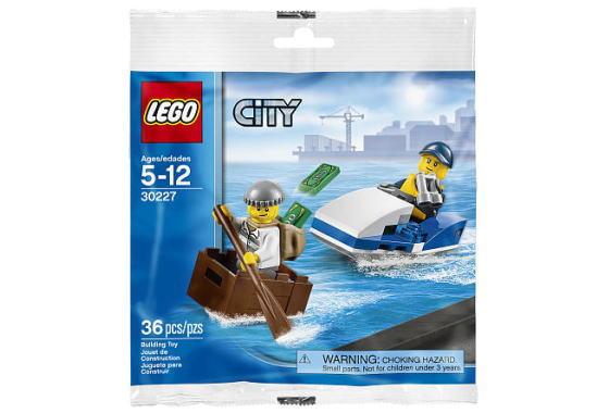 レゴ シティ 30227 Police Watercraft