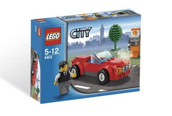 レゴ シティ 8402 スポーツカー