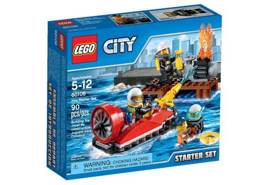 レゴ シティ 60106 消防隊スタートセット