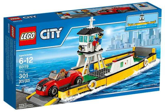 レゴ シティ 60119 フェリー
