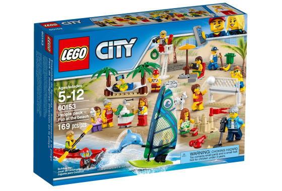 レゴ シティ 60153 レゴシティのビーチ