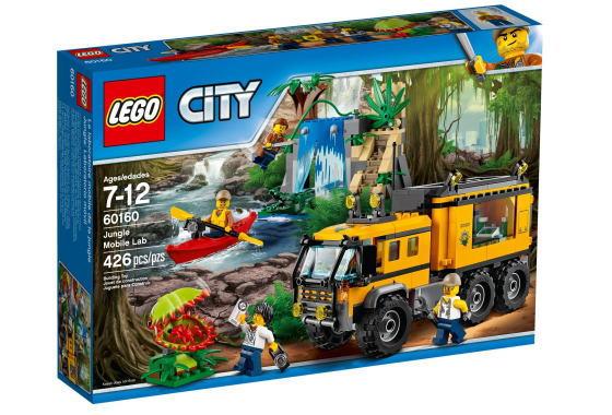レゴ シティ 60160 ジャングル探検移動基地