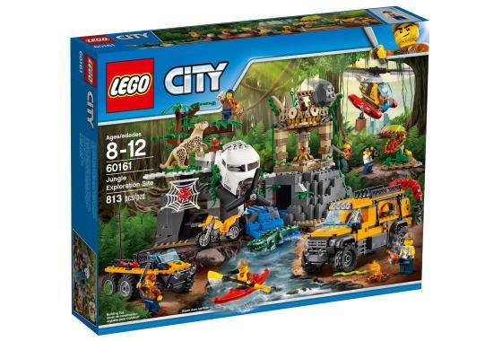 レゴ シティ 60161 ジャングル探検隊