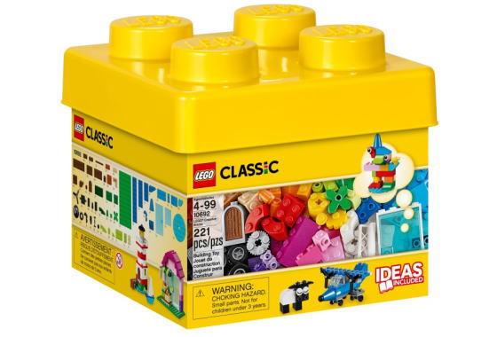 レゴ クラシック 10692 黄色のアイデアボックス
