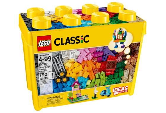 レゴ クラシック 10698 黄色のアイデアボックス