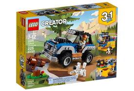 レゴ クリエイター 31075 青いオフローダー