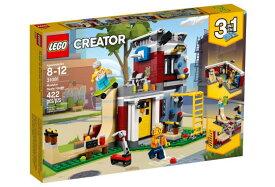 レゴ クリエイター 31081 スケボーハウス (モジュール式)