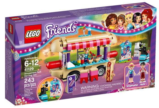 レゴ フレンズ 41129 遊園地 ホットドッグカー