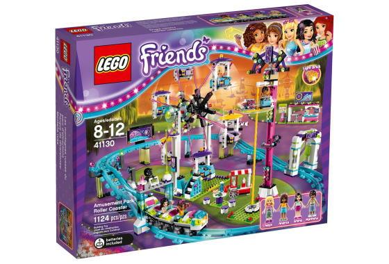 レゴ フレンズ 41130 遊園地 ジェットコースター