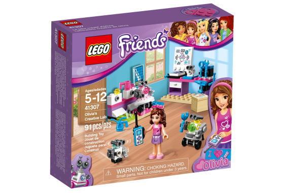 レゴ フレンズ 41307 オリビアのロボットラボ