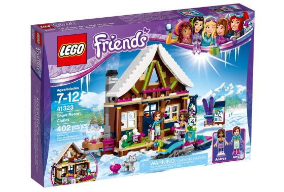 レゴ フレンズ 41323 スキーリゾート スノーロッジ