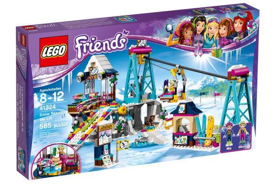 レゴ フレンズ 41324 キラキラスキーリゾート