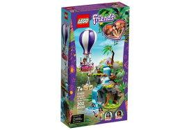 レゴ フレンズ 41423 ホワイトタイガーの熱気球ジャングルレスキュー