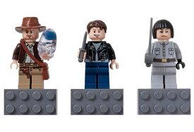 レゴ マグネット 852719 Indiana Jones Magnet Set - Indiana Jones, Mutt Williams, Irina Spalko