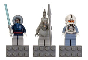 レゴ マグネット 853130 SW Magnet Set - Anakin Skywalker, Talz Chieftain, Clone Pilot