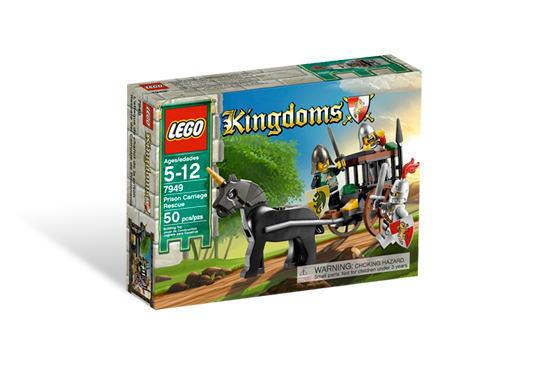 レゴ キングダム 7949 ドラゴン・ナイト団の馬車