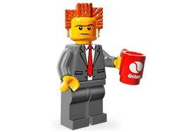 レゴ 71004 ミニフィギュア レゴ ムービーシリーズ おしごと社長(President Business2) - ミニフィグ (1z284)