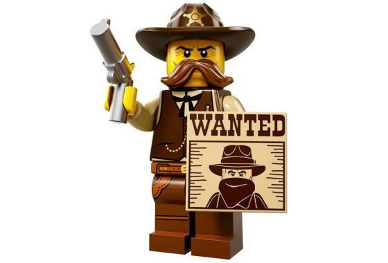 レゴ 71008 ミニフィギュア シリーズ13 保安官(Sheriff-02) - ミニフィグ (1z318)