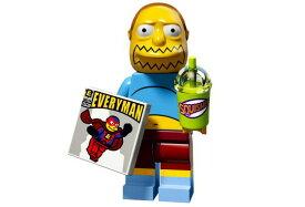 レゴ 71009 ミニフィギュア シンプソンズシリーズ2 コミックブックガイ(Comic Book Guy7) - ミニフィグ (1z355)