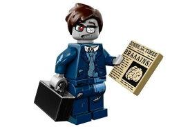 レゴ 71010 ミニフィギュア シリーズ14 ビジネスマン・ゾンビ(Zombie Businessman-13) - ミニフィグ (1z377)