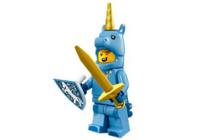 レゴ 71021 ミニフィギュア シリーズ18 ユニコーンマン(Unicorn Guy-17) - ミニフィグ (1z505)