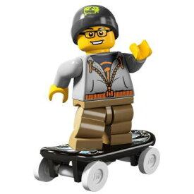 レゴ 8804 ミニフィギュア シリーズ4 スケートボーダー (Skateboader) - ミニフィグ (1z062)