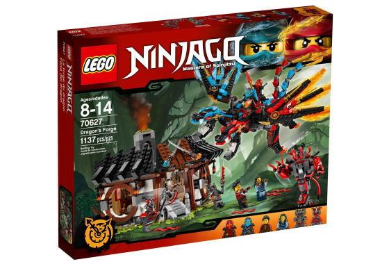レゴ ニンジャゴー 70627 エレメント・ドラゴン:ファイヤーオーシャン