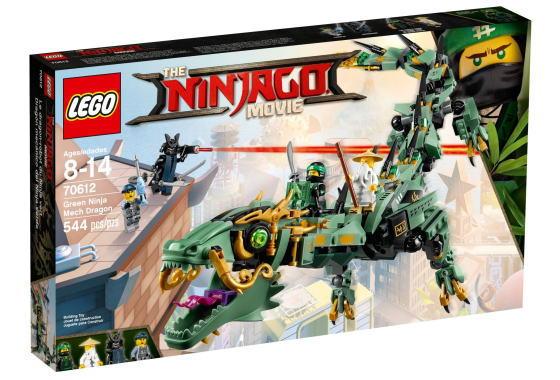 レゴ ニンジャゴー 70612 ロイドのメカドラゴン