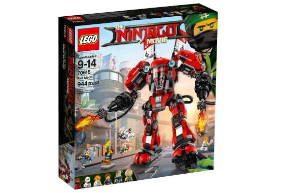 レゴ ニンジャゴー 70615 カイのファイヤーメカ