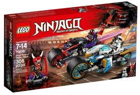 レゴ ニンジャゴー 70639 スネーク・ジャガーのバイクバトル