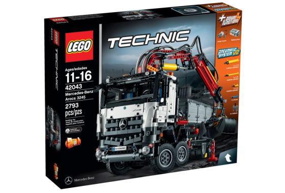 レゴ テクニック 42043 メルセデス・ベンツ アロクス 3245