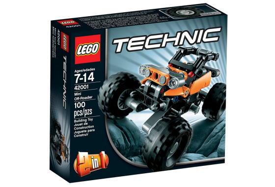 レゴ テクニック 42001 ミニオフローダー
