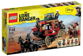 レゴ ローン・レンジャー 79108 馬車での逃走
